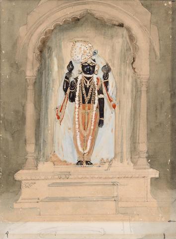A Vishnavite shrine Western India, 20th Century