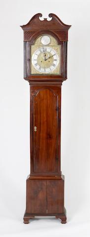 A Scottish Georgian mahogany eight-day longcase clock,
