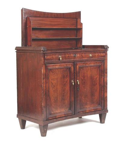 A 19th Century Dutch mahogany Klapbuffet