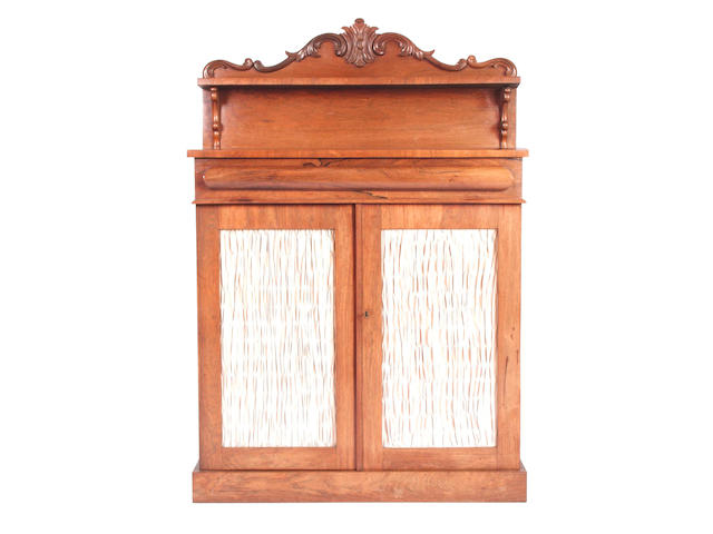 A mid Victorian rosewood chiffonier