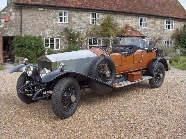1925 Rolls-Royce 45/50hp Silver Ghost Schapandrier-style Tourer 104 EU