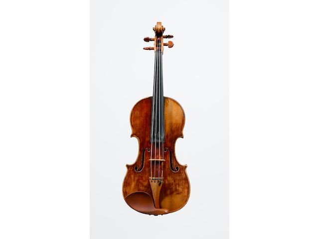 An Italian Violin by J.B.Guadagnini Milan  1750