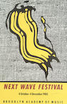 Roy Lichtenstein (American 1923-1997) Next Wave Festival Poster 91 x 61cm (35 3/4 x 24in)(sheet)