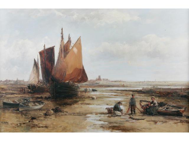 William Edward Webb (British 1862-1903) 59 x 90cm.