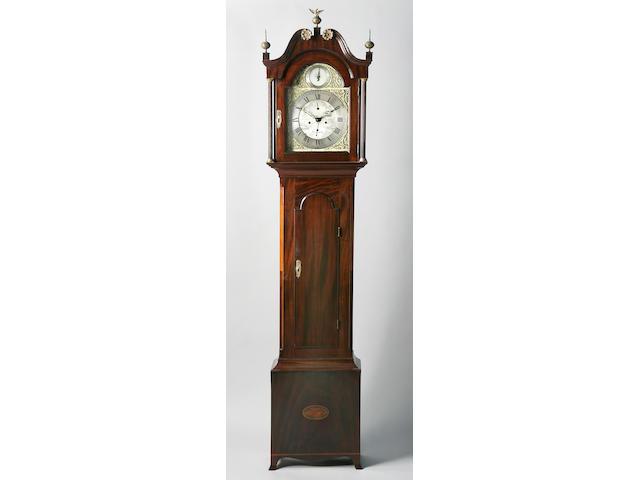 A George III mahogany long case clock,