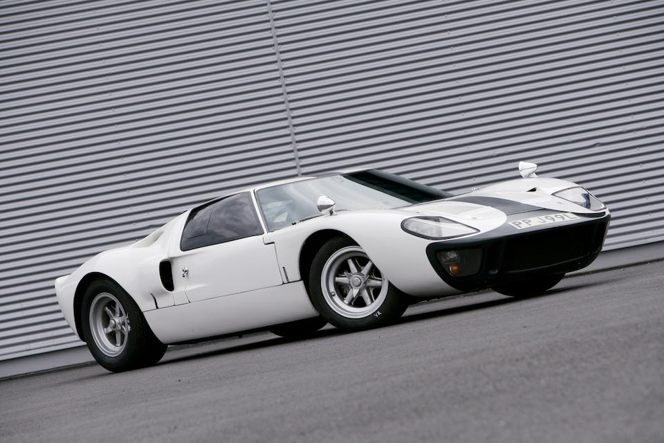 The 'One-Owner from New',1969-72 Ford Two-Seat Road/Competition Coupe  Chassis no. GT40P/1108