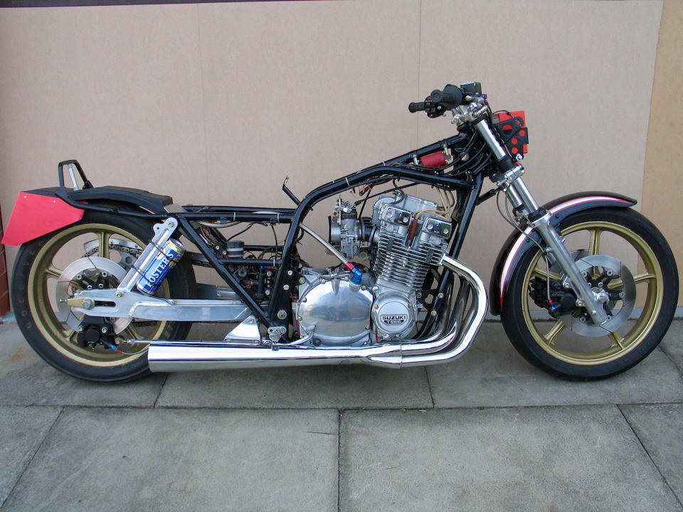 1979 Suzuki GSX1100 'The Deuce' Pro-Stock Dragster  Frame no. GS110X 500002 Engine no. GS10X 100004