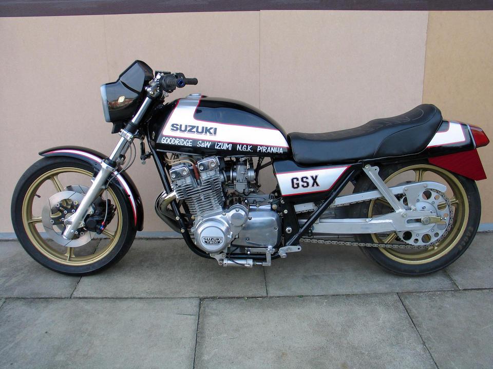 1979 Suzuki GSX1100 'The Deuce' Pro-Stock Dragster  Frame no. GS110X 500002 Engine no. GS10X 100004