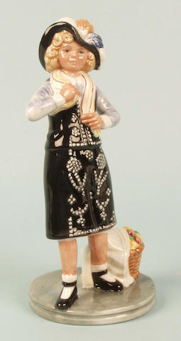 A Royal Doulton figure of Pearly Girl
