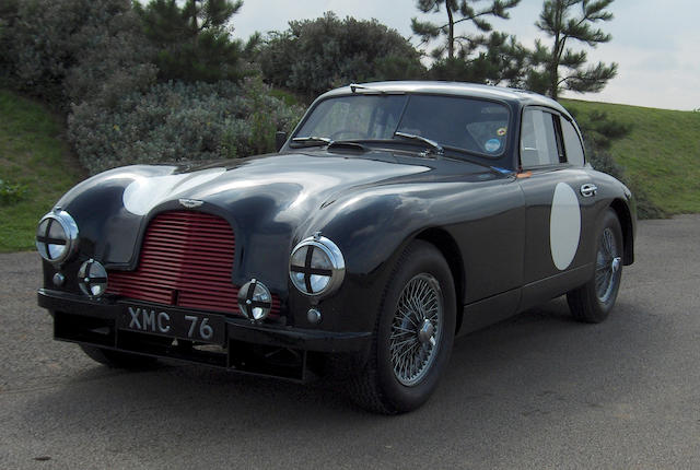 'XMC 76' - The Ex-Works Lightweight Le Mans, Mille Miglia,1951-53 Aston Martin DB2 Grand Touring Com