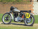 The ex-Works, George Brown,1947 Vincent-HRD 498cc 'Cadwell Special' Racing Motorcycle  Engine no. F5AB/1/1461