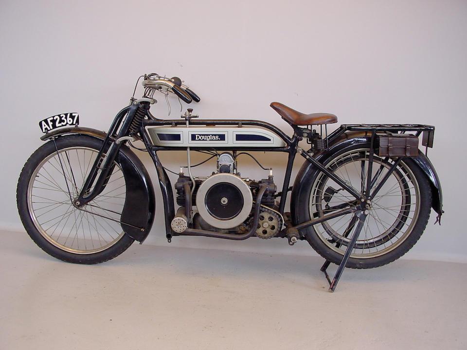 1914 Douglas 3.5hp  Engine no. 1352