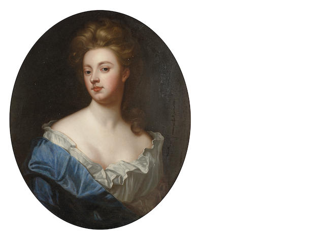 After Sir Godfrey Kneller, 18th Century Portrait of Sarah Churchill, Duchess of Marlborough, 74.5 x