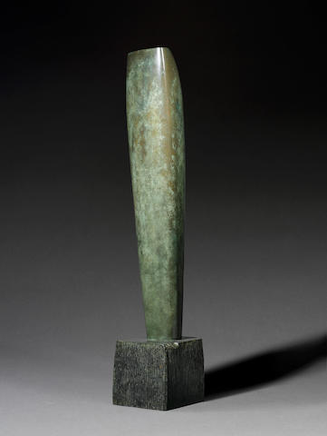 Dame Barbara Hepworth (1903-1975) Single Form (Eikon) 148 cm. (58 1/4 in.) high (including base)
