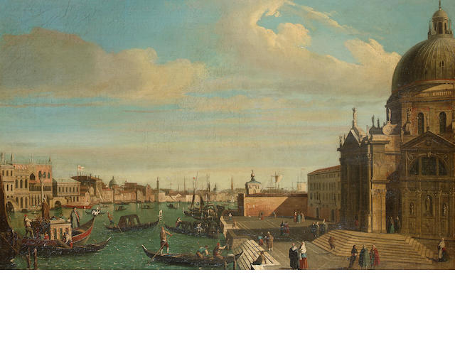 Manner of Antonio Canal, called il Canaletto, 19th Century The entrance to the Grand Canal, Venice,