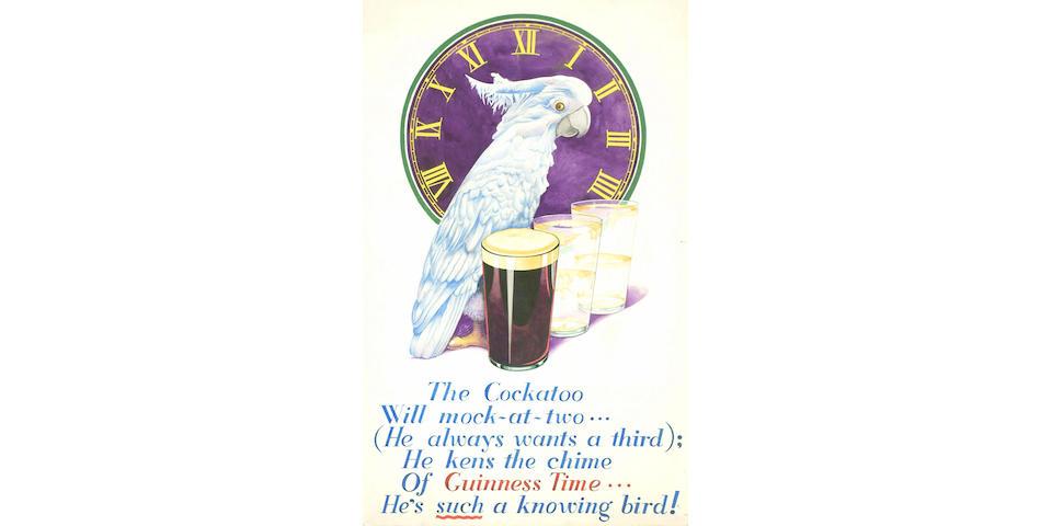 REYNOLDS (SIDNEY BASIL) 2 advertising artworks for Guinness