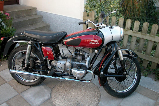 1956 Douglas 348cc Dragonfly  Frame no. 2362/6 Engine no. 9710/5