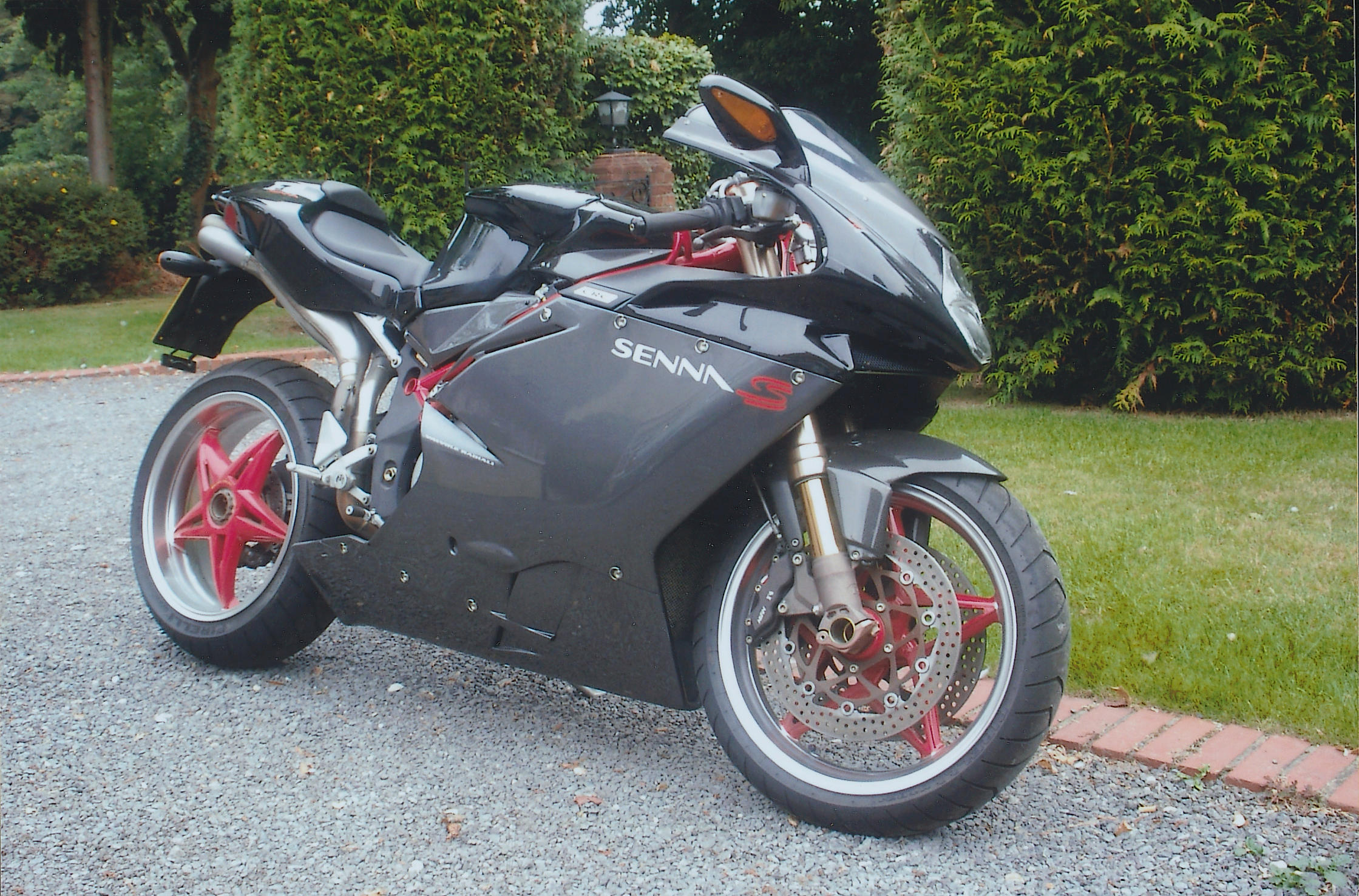 One owner, 930 miles from new 2002 MV 750cc F4 Senna, No. '105...