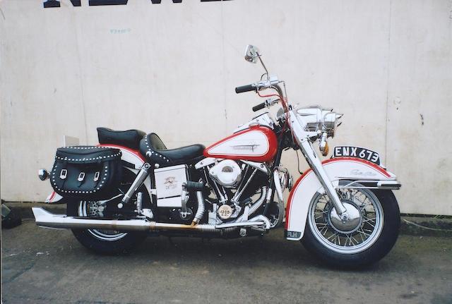 1976 Harley-Davidson 1200cc Electra-Glide 1200cc  Frame no. 2A14000H6 Engine no. 2A14000H6