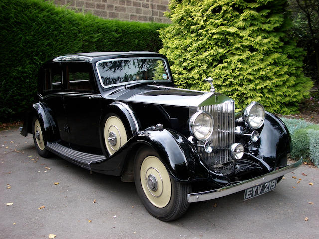 1937 Rolls-Royce 25/30hp Sports Saloon  Chassis no. GRO 54 Engine no. D27C