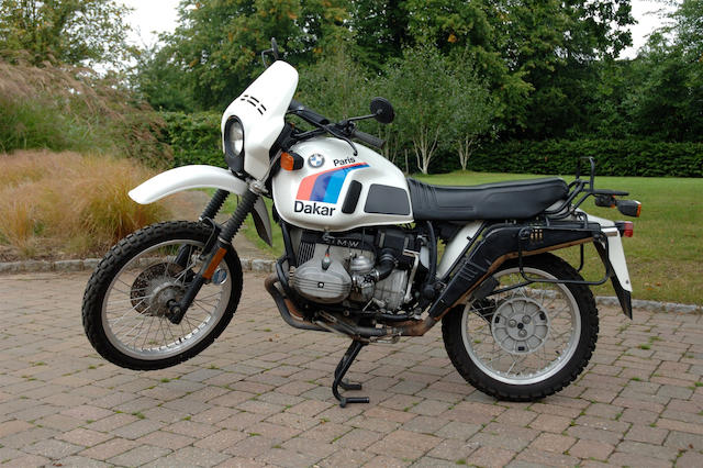 1986 BMW 798cc R80GS Paris Dakar  Frame no. 6286692 Engine no. 02860133