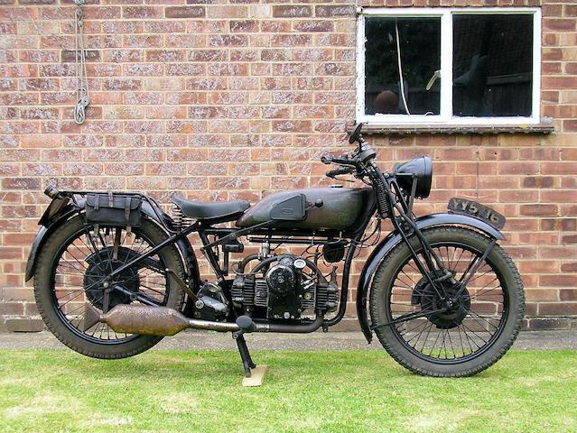 4,540 miles from new,1932 Douglas 499cc Model C32 Bulldog  Frame no. FC1547 Engine no. 5A/302