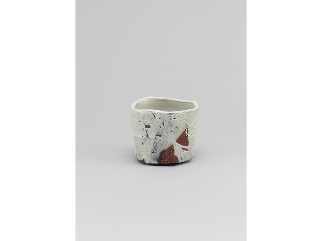 Takauchi Shugo a Chawan or Teabowl Diameter 4 5/8in. (11.9cm)