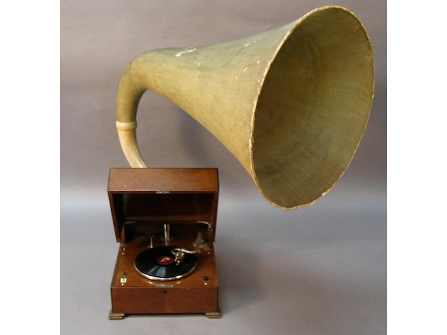 An EMG model XB gramophone