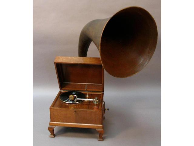 An E. M. Ginn Expert Junior gramophone