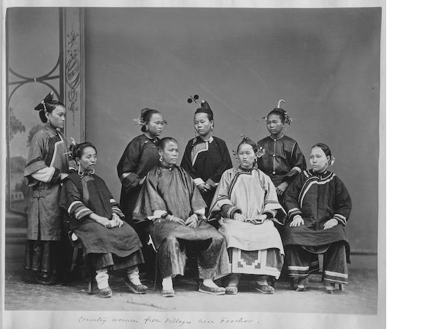 CHINA Peking, Fuchow, Ningpo and Chefoo, 1860s-1878