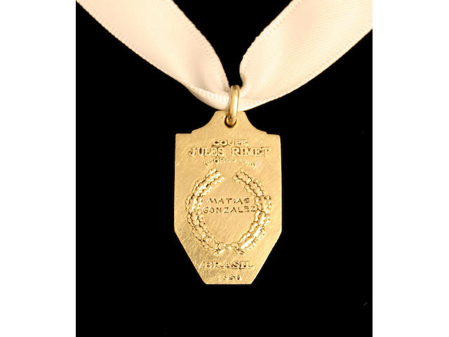 World Cup Winners Medal 1950,