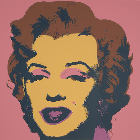 After Andy Warhol (American, 1928-1987) Marilyn Monroe all unframed, each 91 x 91cm (35 3/4 x 35 3/4in)(S)(10)