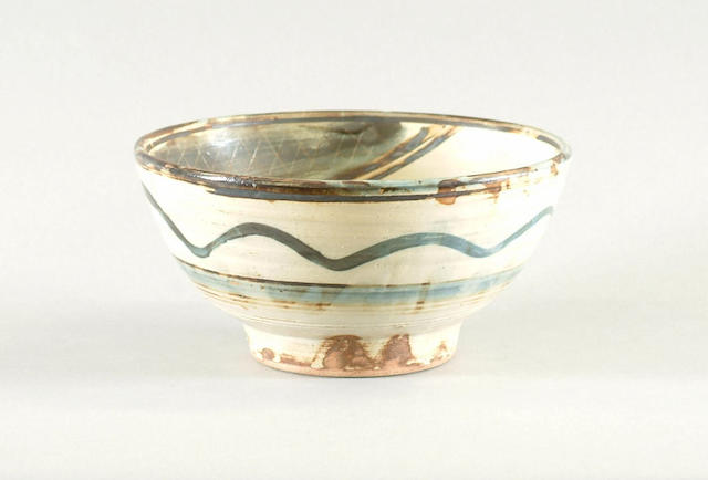 Michael Cardew a late stoneware bowl, circa 1980 Diameter 9 1/2in. (24cm