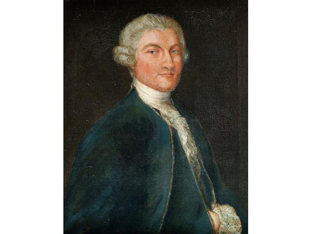 Manner of Sir Joshua Reynolds (18th Century) 'Portrait of John Parker, 1st Lord Borington of Saltram, 1734-1788', 73 x 59cm