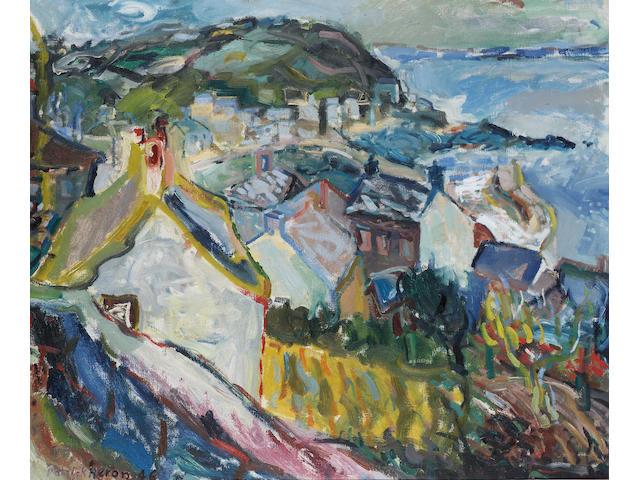 Patrick Heron (1920-1999) Mousehole Bay 63.5 x 76 cm. (25 x 30 in.)