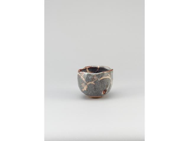 Wakao Toshisada a Nezumi Shino style Chawan or Teabowl, 2000 Maximum Width 5 1/8in. (13cm)