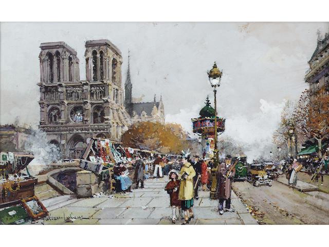 Eugène Galien-Laloue ( 1854-1941) 20.5 x 31 cm.