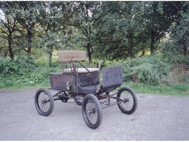1900 Locomobile Steamer Type 2  5-½hp Spindle Seat Runabout  Engine no. 1896
