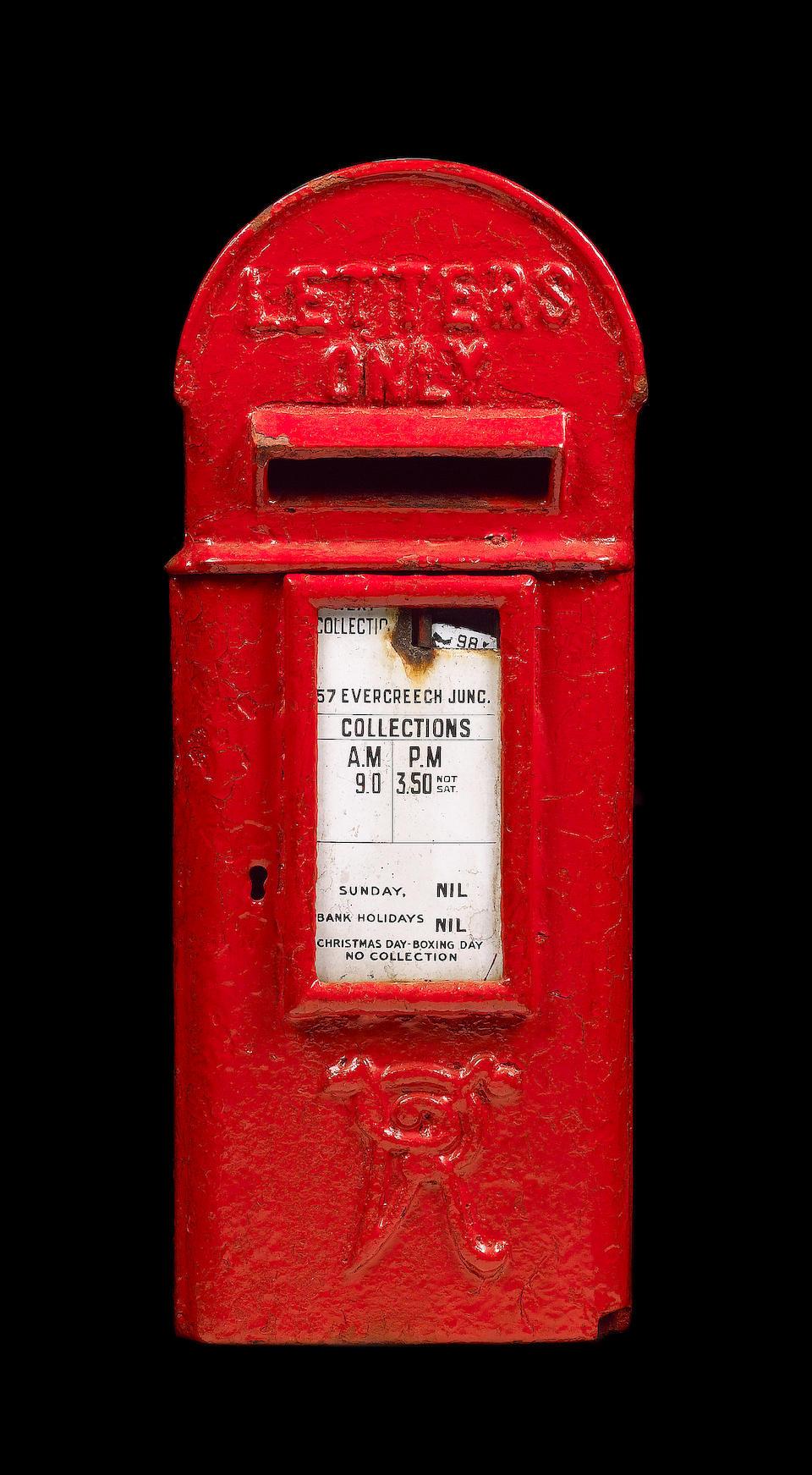 Bonhams Royal Mail Memorabilia Two K G V Post Office