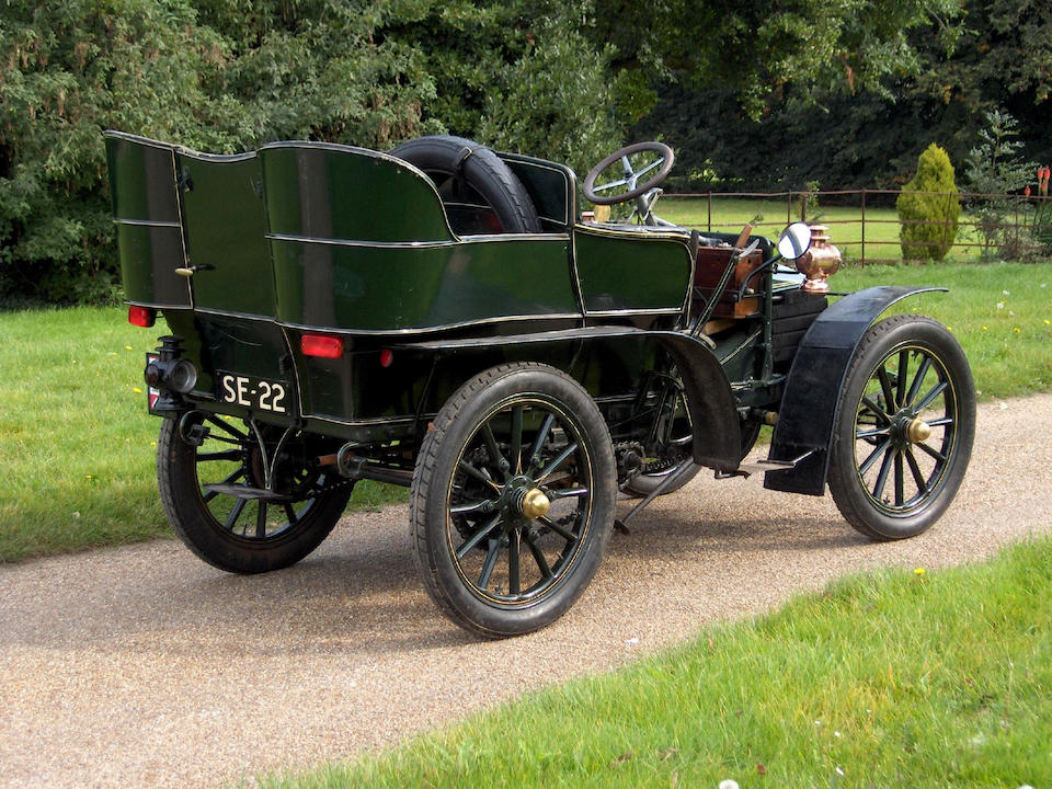 1904 Wolseley 12-hp Rear-Entrance Tonneau  Chassis no. 704 Engine no. 55