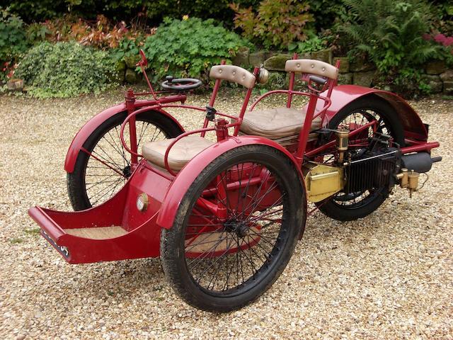 1898 Leon Bollee 3hp,