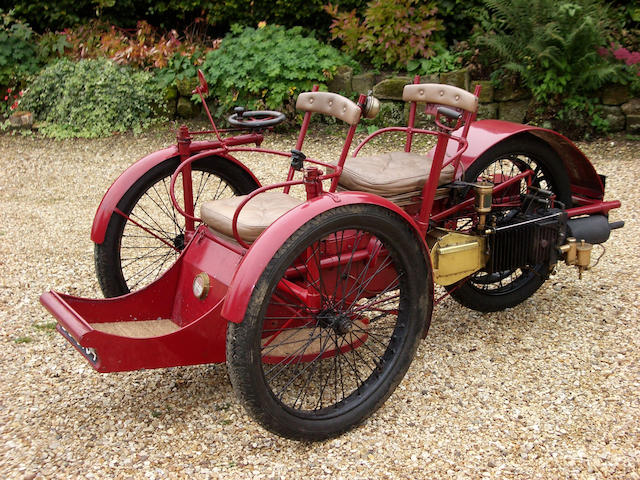 1898 Léon Bollée 3hp Two Seater Voiturette  Chassis no. 903