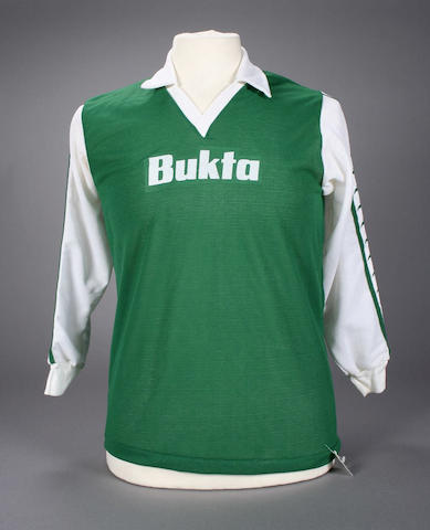 George Best worn shirt,