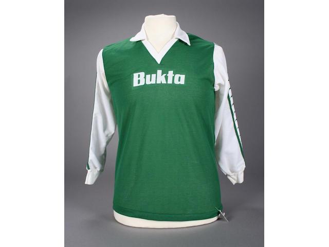 George Best worn shirt,