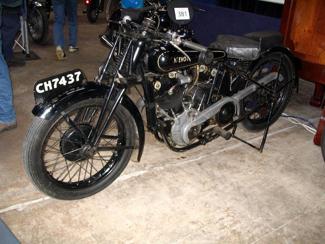 1928 McEvoy-JAP 8/45hp  Frame no. LY8128 Engine no. KTOR/C11224