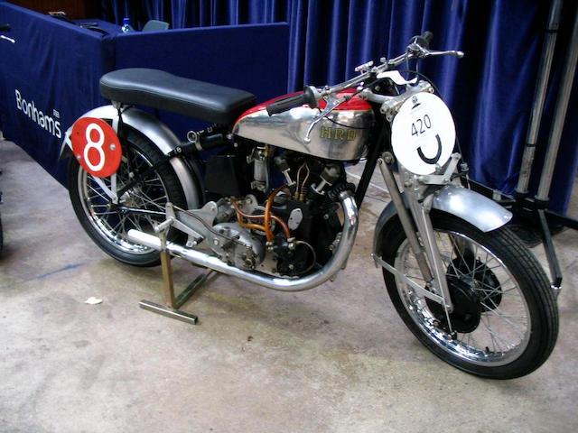 c.1947 Vincent-HRD 498cc Comet Racing Motorcycle