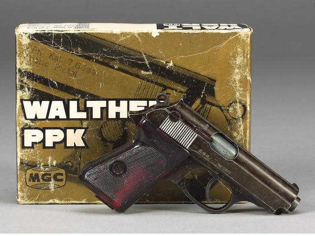 On Her Majesty's Secret Service 1969 Walther PPK