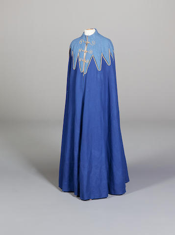 'Dr. Who': a cape worn by Colin Baker,
