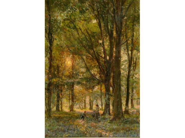 Herbert F. Royle (1870-1958) 'Bolton Woods' 52 x 36.5cm.