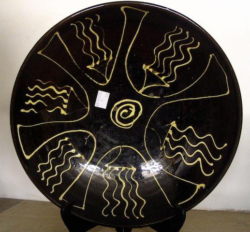 Unknown maker a Dish Diameter 11 7/8in. (30.2cm)